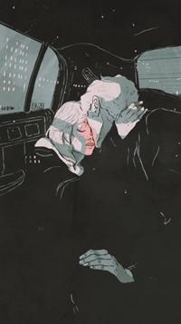Аватар вконтакте Парень и девушка едут в машине и обнимаются, by Giovanni Esposito