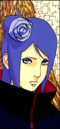 Аватар вконтакте Konan / Конан из аниме Naruto / Наруто, by 27kw91