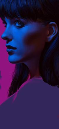 Аватар вконтакте Темноволосая девушка в профиль, by thegameworld