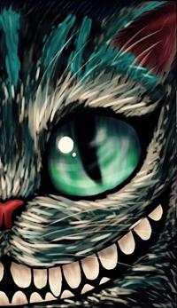 Аватар вконтакте Чеширский кот из сказки Алиса в стране чудес / Alice In Wonderland