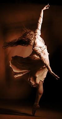 Аватар вконтакте Девушка танцующая в пуантах, фотограф Давыдов Михаил