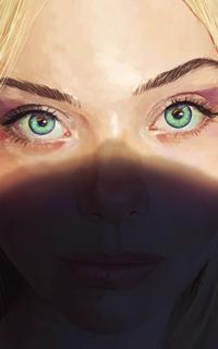 Аватар вконтакте Светловолосая голубоглазая девушка, by ArthurHenri