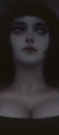 Аватар вконтакте Темноволосая девушка, by AugustoCasarin
