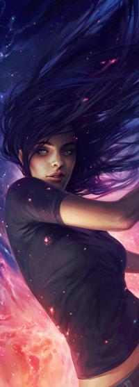 Аватар вконтакте Темноволосая девушка, by Charlie-Bowater