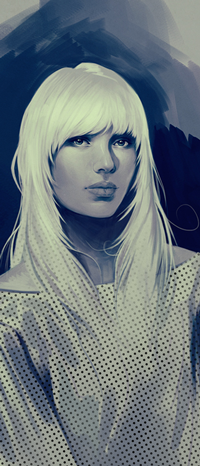 Аватар вконтакте Белокурая девушка, by Charlie-Bowater