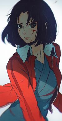 Аватар вконтакте Shiki Ryougi / Сики Реги из аниме Kara no Kyoukai 1: Fukan Fuukei / Граница пустоты 1: Вид с высоты, by Koyorin