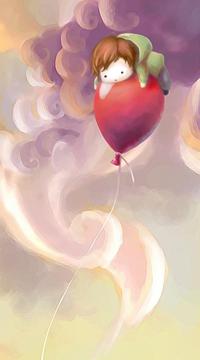 Аватар вконтакте Мальчик на воздушном шарике