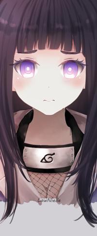 Аватар вконтакте Hinata Hyuuga / Хината Хюга из аниме Naruto / Наруто, by LawNielleRIMM