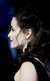 Аватар вконтакте Британская актриса театра, кино и телевидения Хелена Бонэм Картер / Helena Bonham Carter в профиль