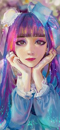 Аватар вконтакте Девушка в яркой одежде, by mazepla