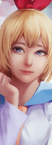 Аватар вконтакте Chitoge Kirisaki / Читогэ Кирисаки из аниме Nisekoi / Притворная любовь, by Riief
