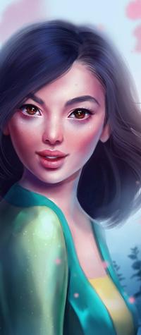 Аватар вконтакте Mulan / Мулан из мультфильма Mulan / Мулан, by SandraWinther
