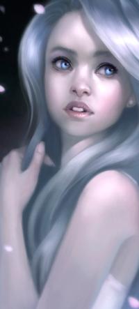 99px.ru аватар Голубоглазая белокурая девушка, by Warmics