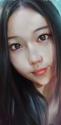99px.ru аватар Длинноволосая азиатская девушка, by ilovepumpkin2014