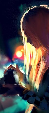 Аватар вконтакте Robin Solovieva / Робин Соловьева из веб-комикса Fisheye Placebo / Плацебо подозрительного вида, by yuumei