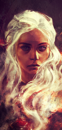 Аватар вконтакте Daenerys Targaryen / Дейенерис Таргариен из сериала Game of Thrones / Игра престолов, by alicexz