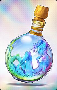 99px.ru аватар Парень вода в стеклянной бутылочке, by LONEOLD