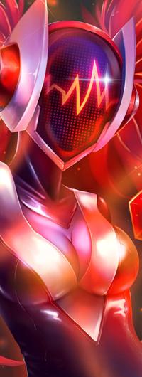 Аватар вконтакте DJ Sona - Maven of the Strings / Диджей Сона из игры League of Legends / Лига Легенд, by Konoko-Yoyo-Tsuke