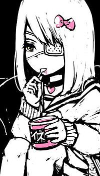Аватар вконтакте Косамэ Амагай / Kosame Amagai из аниме Сайт волшебниц / Mahou Shoujo Site