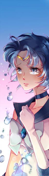Аватар вконтакте Ami Mizuno / Ами Мизуно из аниме Bishoujo Senshi Sailor Moon / Красавица-воин Сейлор Мун, by sheryu