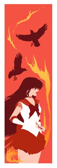 Аватар вконтакте Rei Hino / Рэй Хино из аниме Bishoujo Senshi Sailor Moon / Красавица-воин Сейлор Мун, by Ranya-Ni