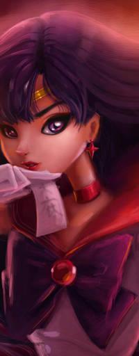 Аватар вконтакте Rei Hino / Рэй Хино из аниме Bishoujo Senshi Sailor Moon / Красавица-воин Сейлор Мун, by gabrielleandhita