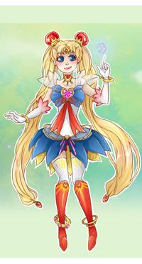 Аватар вконтакте Usagi Tsukino / Усаги Цукино из аниме Bishoujo Senshi Sailor Moon / Красавица-воин Сейлор Мун, by MMtheMayo