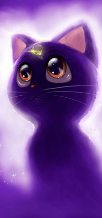 Аватар вконтакте Luna / Луна из аниме Bishoujo Senshi Sailor Moon / Красавица-воин Сейлор Мун, by Pillara