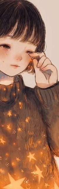 Аватар вконтакте Плачущая девушка держит руку у лица