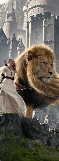 Аватар вконтакте Susan and Aslan / Сьюзан и Аслан из фильма Нарния / Narnia, by panjoool