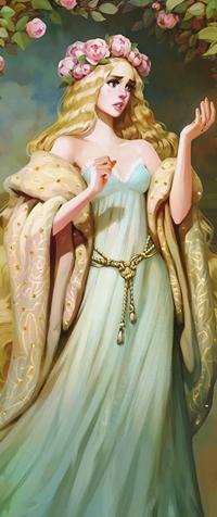 Аватар вконтакте Aurora / Аврора персонаж сказки Спящая красавица / Sleeping Beauty, by Svetlana Tigai