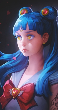 Аватар вконтакте Sailor Wave / Сейлор Волна, by Svetlana Tigai