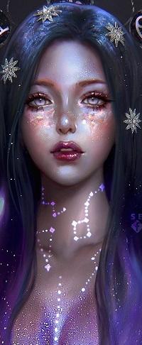 Аватар вконтакте Девушка-богиня Северного созвездия, by serafleur