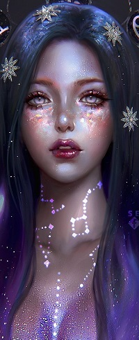 99px.ru аватар Девушка-богиня Северного созвездия, by serafleur