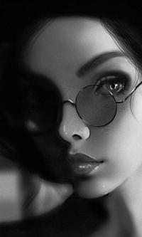 Аватар вконтакте Девушка в очках, by ItsCiver