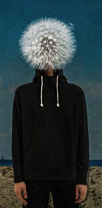 Аватар вконтакте Человек с одуванчиком вместо головы, фотограф Фетт Сергей