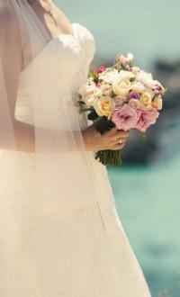 Аватар вконтакте Невеста с букетом