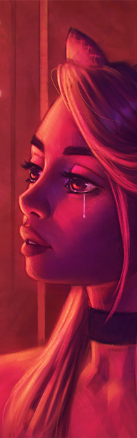 Аватар вконтакте Плачущая девушка, by AngelGanev