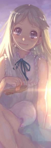 Аватар вконтакте Menma (Meiko Honma) / Мэнма (Мэйко Хонма) из аниме Невиданный цветок / Anohana, by Mireys
