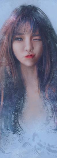 Аватар вконтакте Длинноволосая девушка, by trungbui42