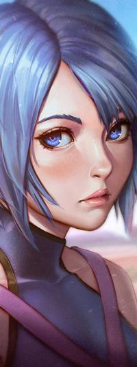 Аватар вконтакте Aqua / Аква из игры Kingdom Hearts, by rotisusu