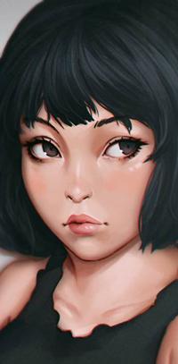 Аватар вконтакте Темноволосая девушка, by rotisusu