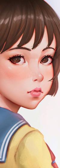 Аватар вконтакте Shizuku Tsukishima / Шизуку Цукишима из аниме Mimi wo Sumaseba / Шепот сердца, by rotisusu