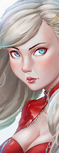 Аватар вконтакте Ann Takamaki / Анн Такамаки из аниме Persona 5 the Animation / Персона 5, by rotisusu
