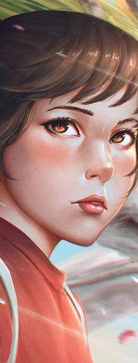 99px.ru аватар Chihiro Ogino / Тихиро Огино из аниме Sen to Chihiro no Kamikakushi / Унесенные призраками, by rotisusu