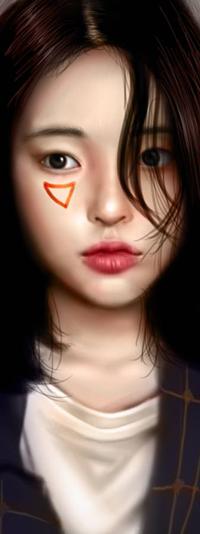 Аватар вконтакте Азиатская девушка, by NagaW
