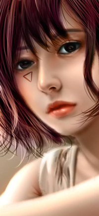 Аватар вконтакте Девушка с розовыми волосами, by NagaW