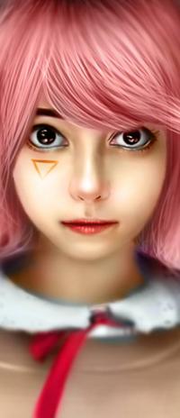 Аватар вконтакте Natsuki / Натцки из игры Doki Doki Literature Club, by NagaW