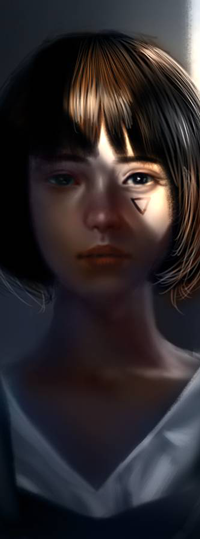 Аватар вконтакте Темноволосая девушка, by NagaW
