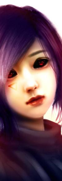 Аватар вконтакте Touka Kirishima / Тока Киришима из аниме Tokyo Ghoul / Токийский Гуль, by NagaW